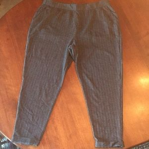 Old Navy soft herringbone print pants